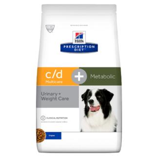 C/D metabolic et urinary CHIEN